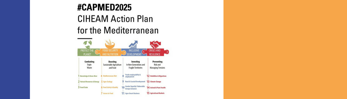 The CIHEAM Action Plan For the Mediterranean 2025 (CAPMED2025)